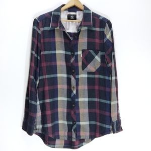 10 tentree | Plaid Flannel Long Sleeve Button Down